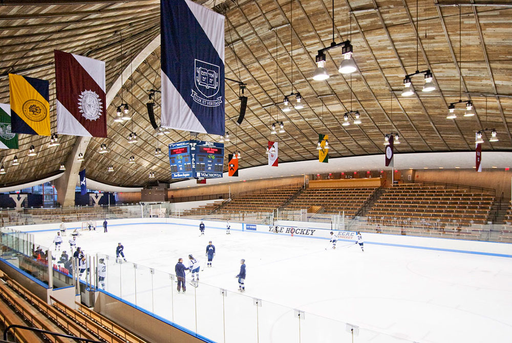 DOCOMOMO awards KRJDA the Design Award for Excellence for the restoration and expansion of Ingalls Hockey Rink.