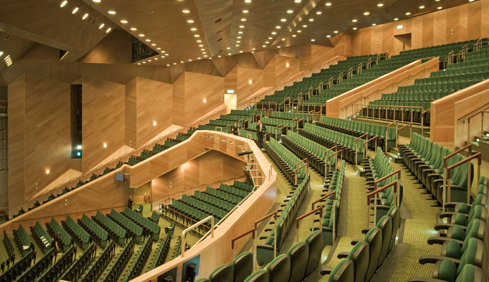 developing sports convention and performing arts centers