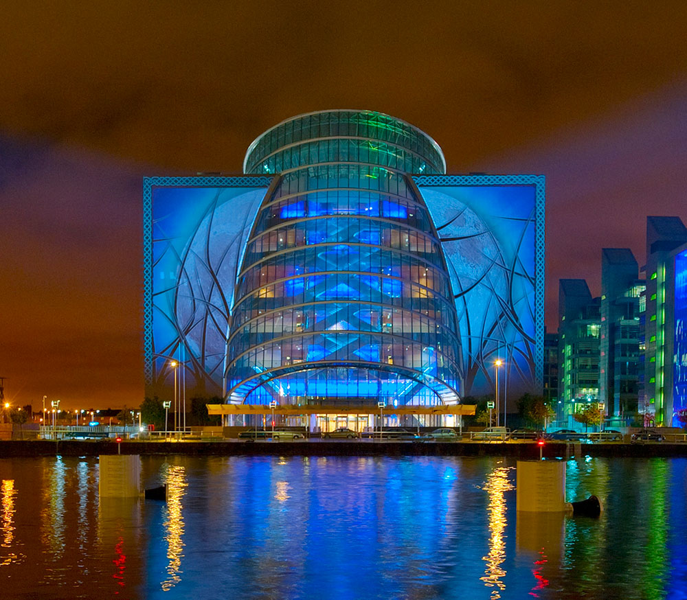 Convention Centre Dublin wins Europe's Leading Meetings & Conference Centre 2018 for the second year in a row at the 25th Annual World Travel Awards.